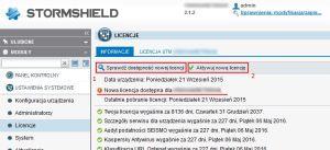 Aktualizacja z WebGUI